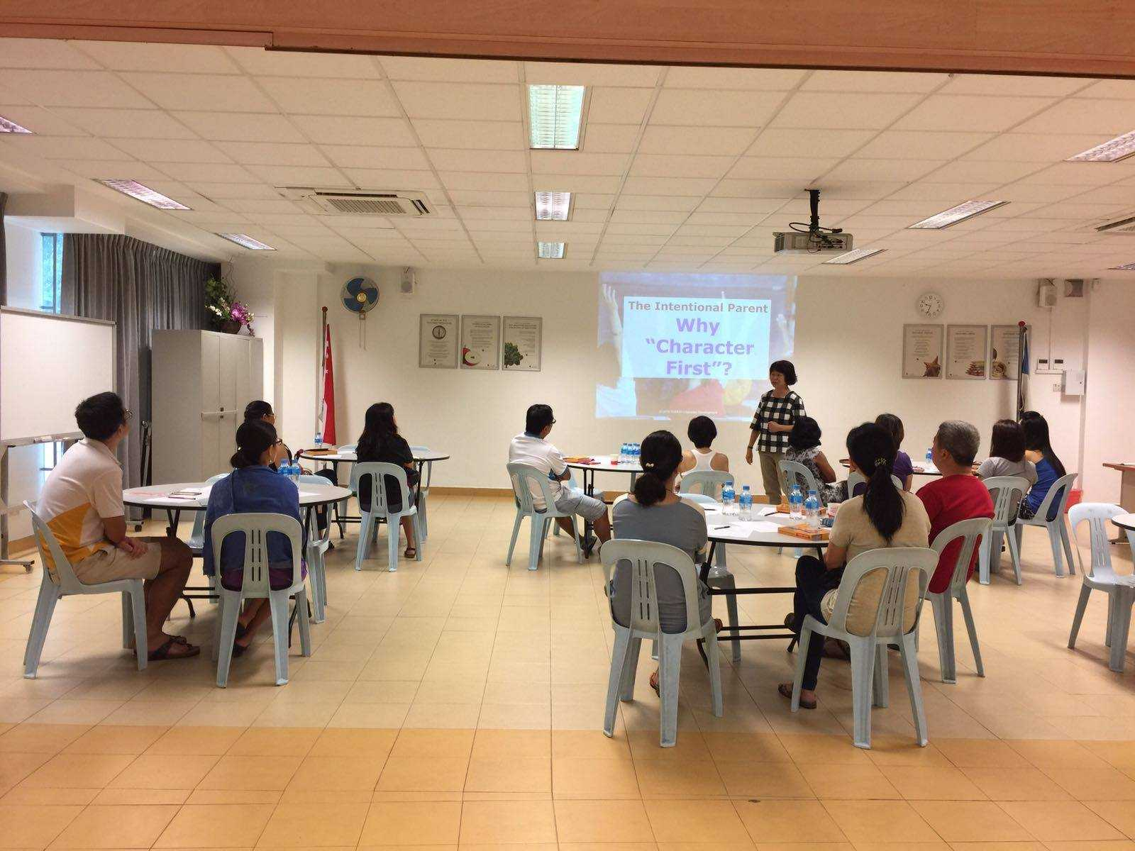 A talk on 'The Intentional Parent' was conducted for parents